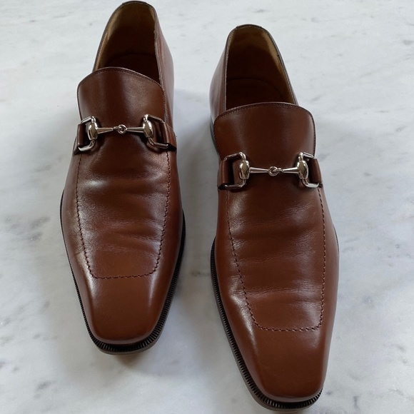 Gucci Shoes   Mens Brown Loafers With
